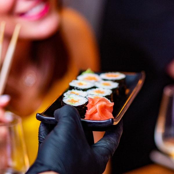 βραδιά σούσι
